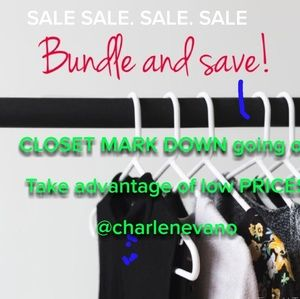 CLOSET on sale
